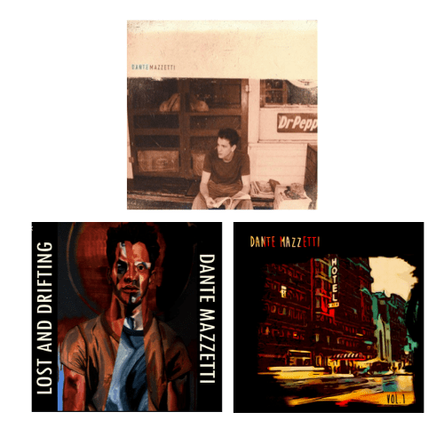 Dante Mazzetti, Lost and Drifting, and Hotel Vol. 1 cds by Dante Mazzetti